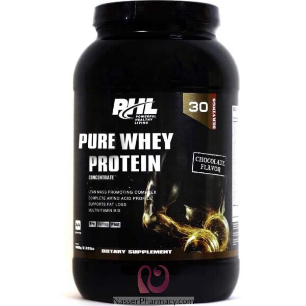 Phl Whey Protein Chocolate 2.38 Lb 1080 Gm