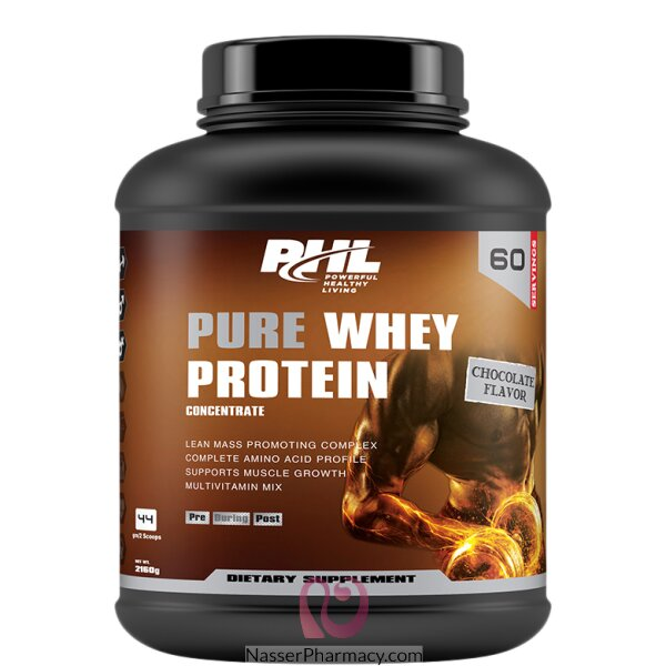 Phl Whey Protein Chocolate 4lb 1800 Gm