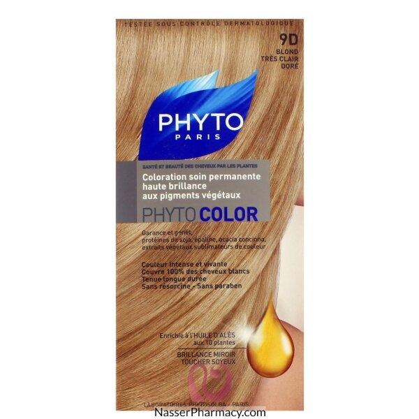 فايتو صبغة دائمة للشعر - 9d Very Light Golden Blond