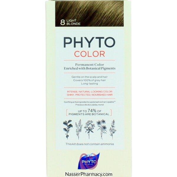فايتو Phyto  صبغة دائمة للشعر - أشقر خفيف 8