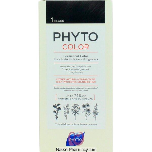 فايتو   Phyto صبغة سوداء للشعر