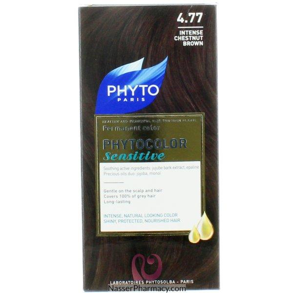 فايتو  Phyto صبغة لفروة الراس الحساسه كستنائى بنى غامق (4.77)