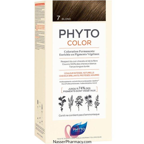 فايتو  Phyto صبغة للشعر - أشقر 7