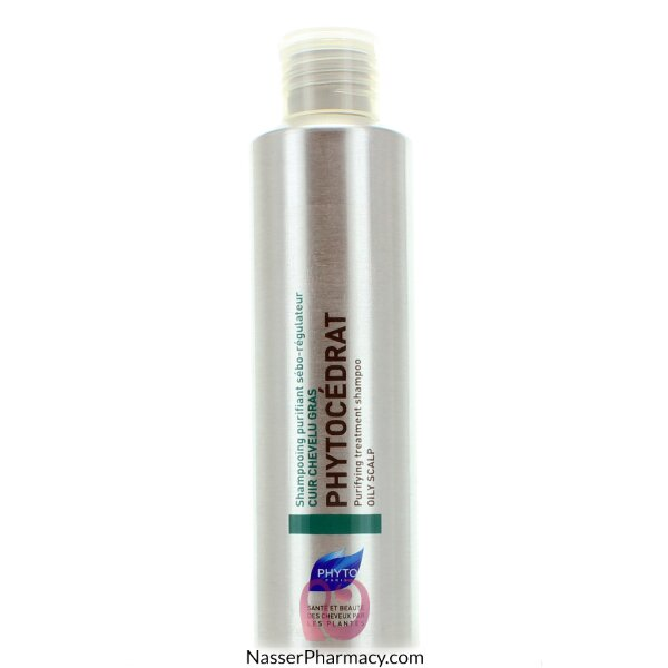 فايتو (phytocedrat ) شامبو للشعر الدهني - 200 مل