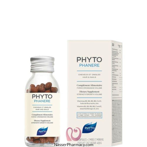 فايتو Phytophanere  كبسولات لعلاج الشعر والأظافر - 120 كبسولة