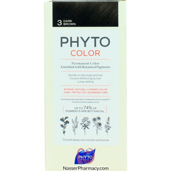 Phytocolor 3 Chatain Fonc