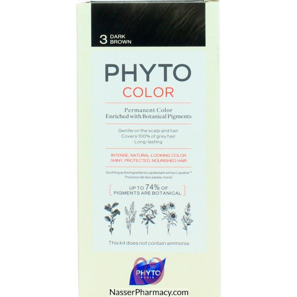 Phytocolor 3 Dark Brown