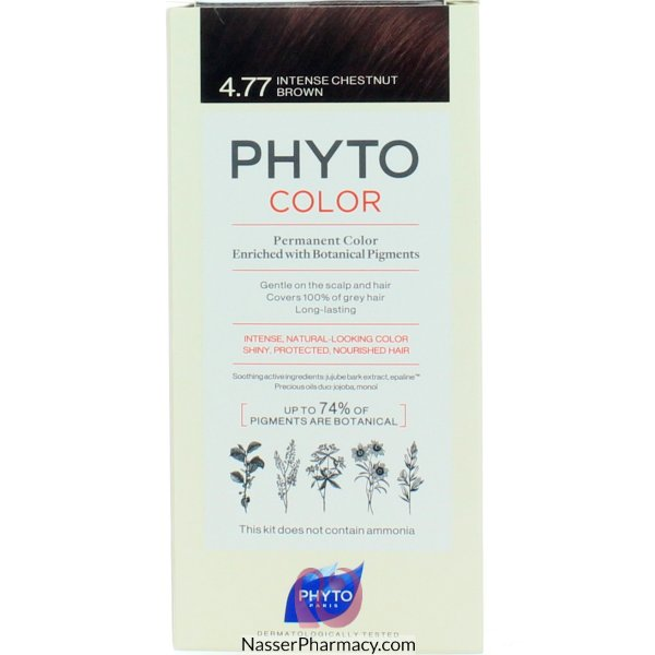 Phytocolor 4.77 Chatain Marron