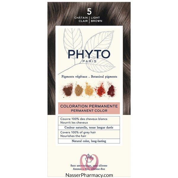 Phytocolor 5 Light Chestnut