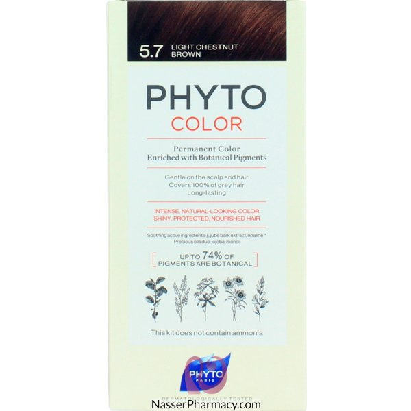 Phytocolor 5.7 Chatain Clair M