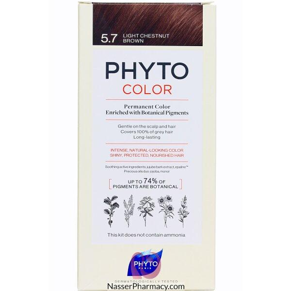 Phytocolor 5.7 Light Chestnut Brown