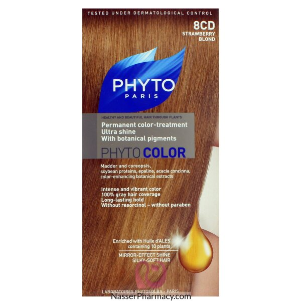 Phytocolor 8cd -strawberry Blond