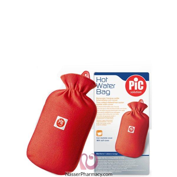 بيك حقيبة الماء الساخن ثنائي الوجه - مع غطاء