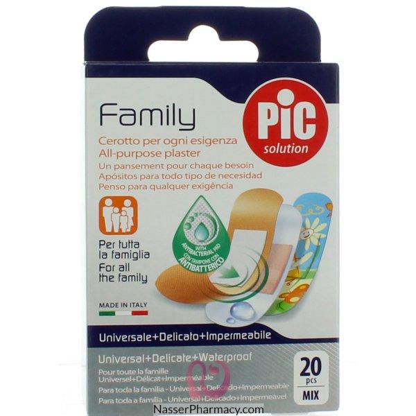 بيك ضمادة الجروح العائلية المضادة للبكتيريا  20 قطعة