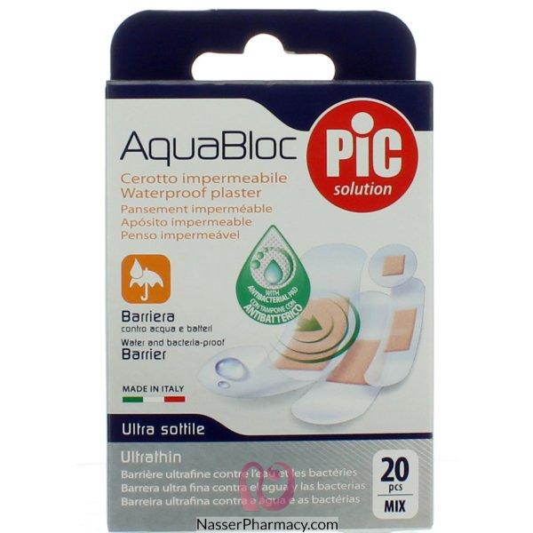 بيك ضمادة الجروح Aqua Block مختلف الأحجام