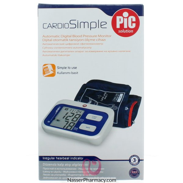 Pic Arm Blood Pressure Monitor Cardiosimple
