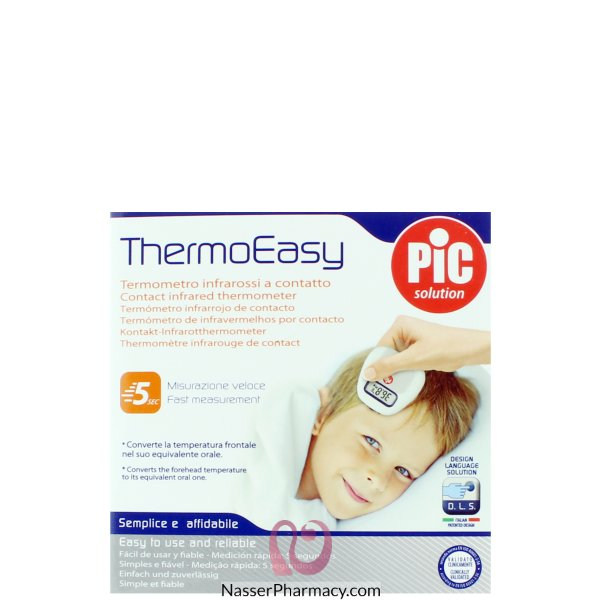 Pic Infrared Thermometer Thermoeasy