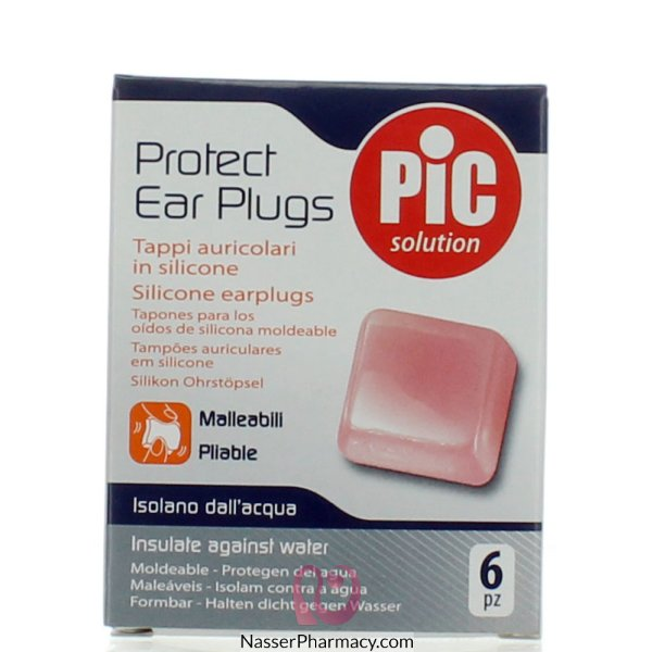 Pic Silicone 6 Sprot Ear Plugs