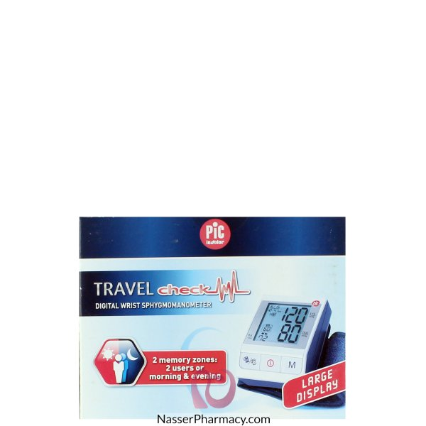 Pic Travel Check Blood Pressure Monitor