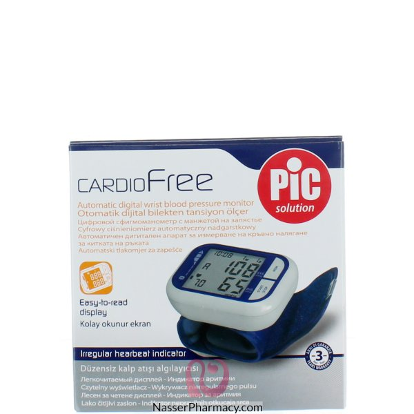 Pic Wrist Cardiofree Digital Blood Pressure Monitor