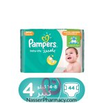 Pampers Baby-dry Diapers, Size 4, Maxi, 8-14 Kg Value Pack, 44 Count