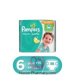 Pampers Baby-dry Diapers, Size 6, Extra Large, 15+ Kg, Jumbo Pack, 36 Count