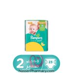 Pampers New Baby-dry Diapers, Size 2, Mini, 3-6kg, Carry Pack, 23 Count