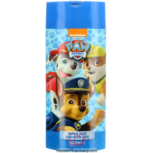Paw Patrol Bath & Shower Gel 400ml