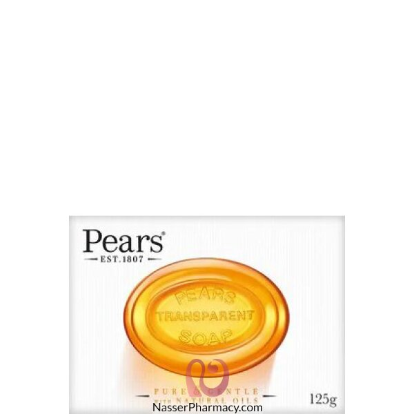 Pears Transparent Bath Soap 125g