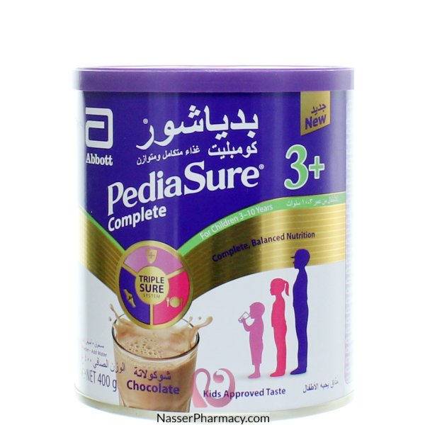 Pediasure Complete 3+choc Powder 400g