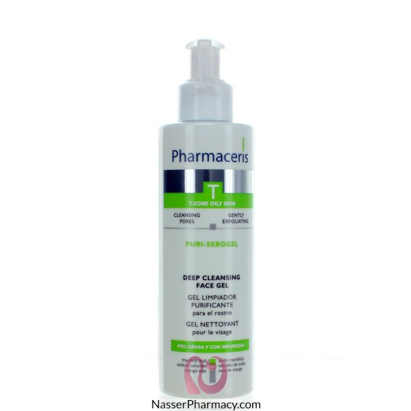 Pharmaceris Sebo Puri Deep Cleanser. Face Gel 190 Ml