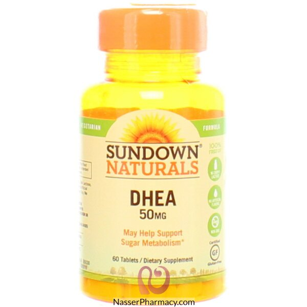 Sundown Naturals, Dhea, 50 Mg, 60 Tablets