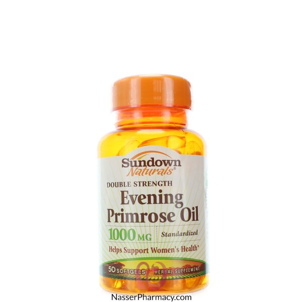 Sundown Naturals Evening Primrose Oil 1000 Mg - 50 Softgels
