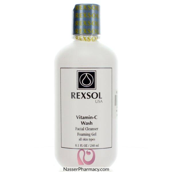 Rexsol Vit-c Facial Cleanser 240ml