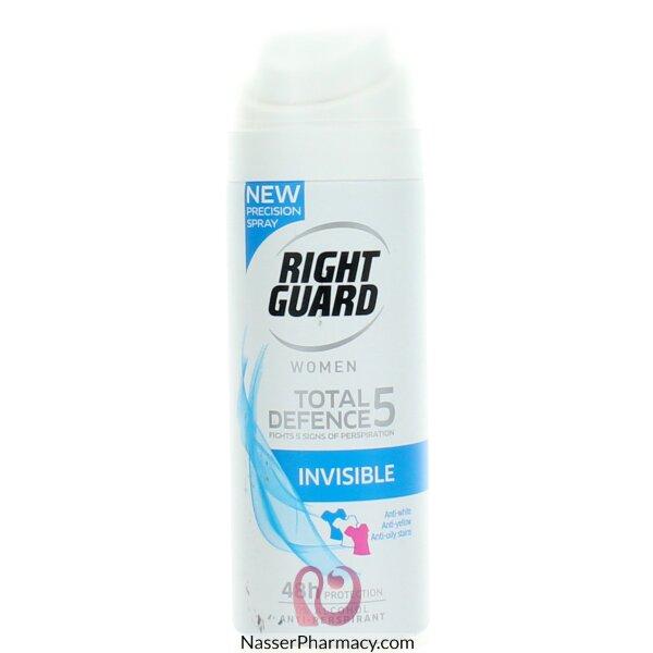 رايت جارد Right Guard كلاسيك توتال ديفينس5 مزيل العرق للنساء 150 مل