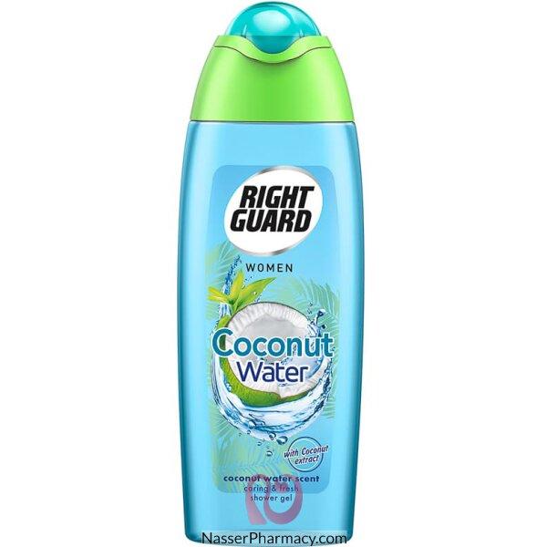 Right Guard Coconut Water Shower Gel Women 250ml