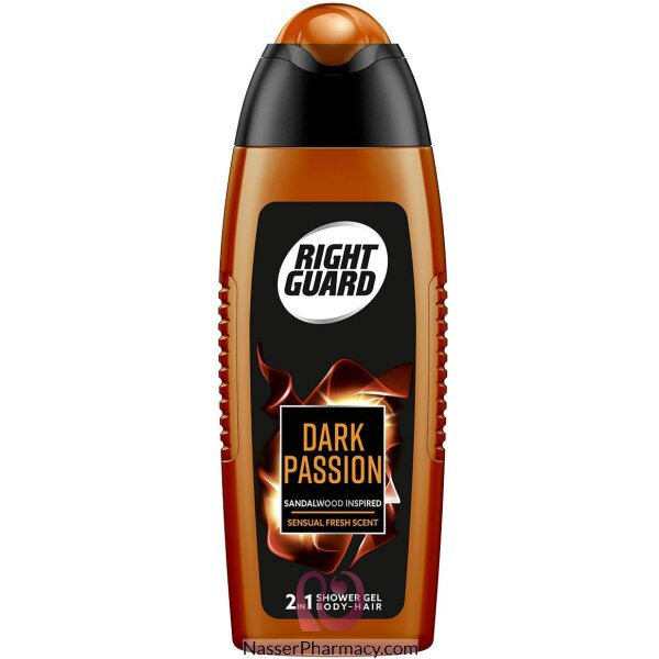 Right Guard Shower Gel Dark Passion 250ml