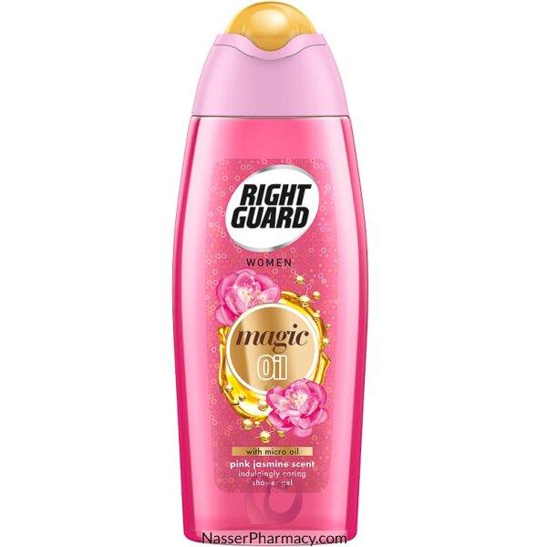 Right Guard Shower+ Oils Pink Jasmin Shower Gel 250ml