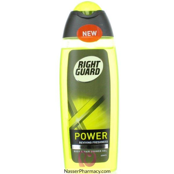 Right Guard Shower+ Xtrm Shwr Gel Power 6 -54304