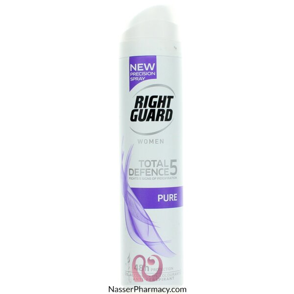 Right Guard Total Defence 5 Pure Unscented 250ml