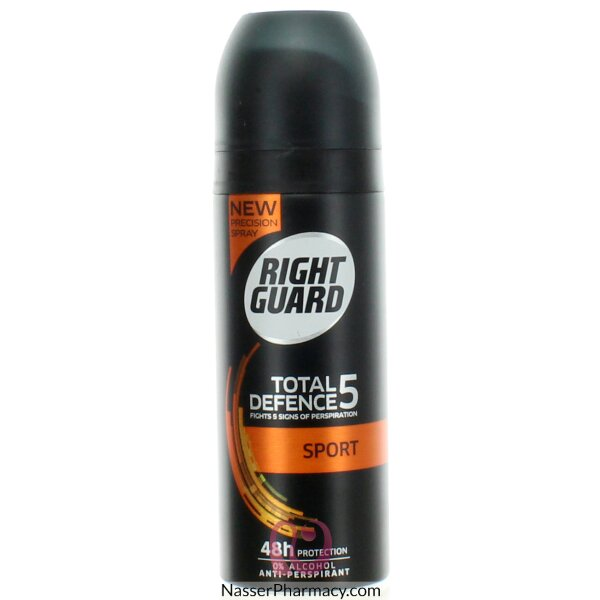 Right Guard Total Defence 5 Sport Antiperspirant 150ml