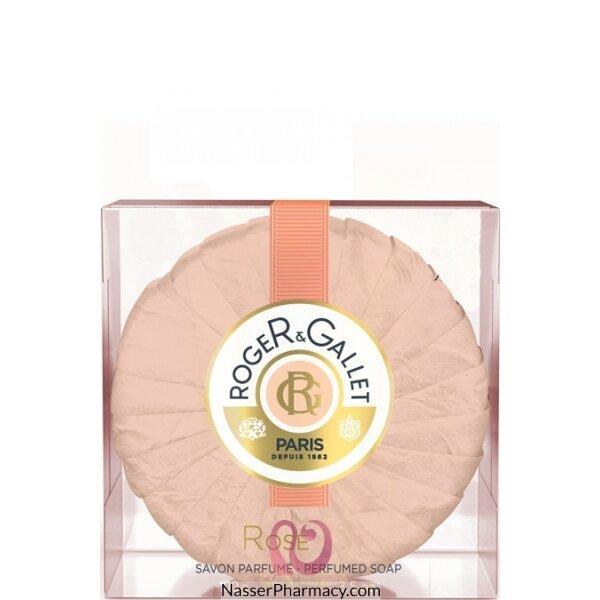 روجية وجالية    ( R & G ) Roger & Gallet  صابون  روز معطر 100 جرام