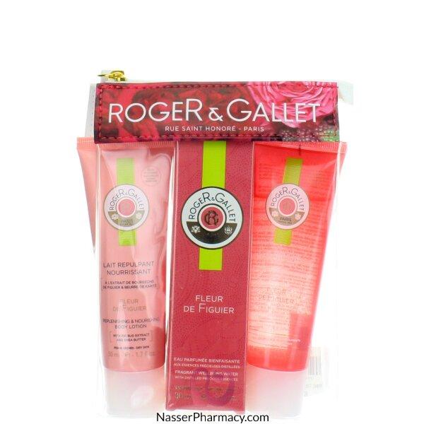 روجيه و غاليه   ( R & G )   Roger & Gallet Fleur De Figuier   حقيبة سفر