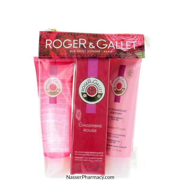 روجيه و غاليه  ( R & G ) Roger & Gallet  Gingembre حقيبة سفر