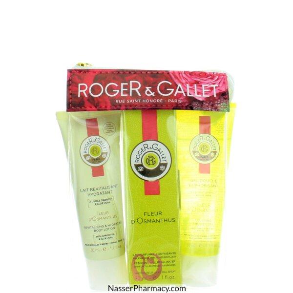 ( Roger & Gallet  Fleur D&#39osmanthus (r&g) Travel Pouch