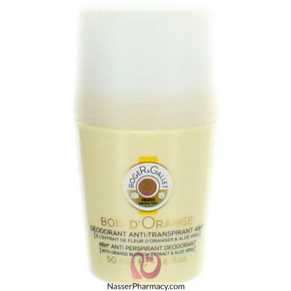 Roger & Gallet ( R & G )  Bois D' Orange 48h Anti Perspirant Deodorant Roll On