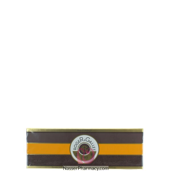 Roger & Gallet ( R & G )    Bois D&#39 Orange  Savon Boite  Coffret 3x100g