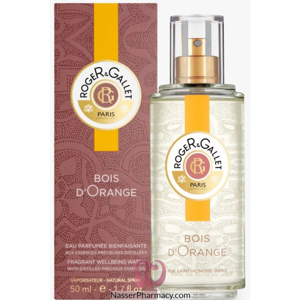 Roger & Gallet ( R & G ) Bois D`orange For Women And Men - 50ml