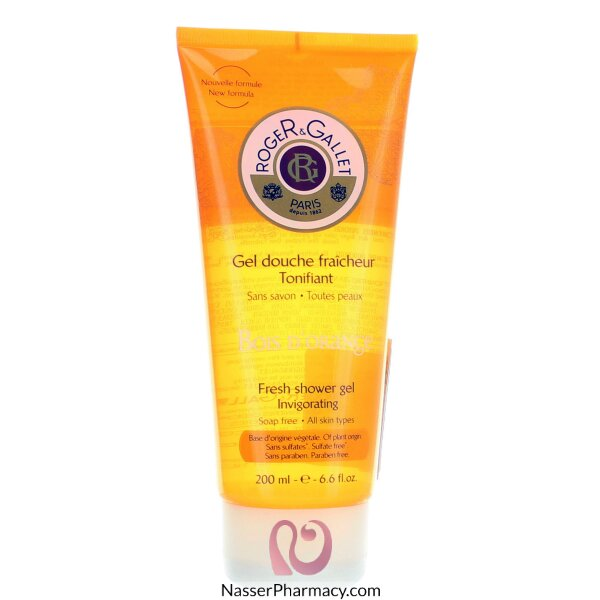 Roger & Gallet  ( R & G )  Bois D`orange Shower Gel - 200ml