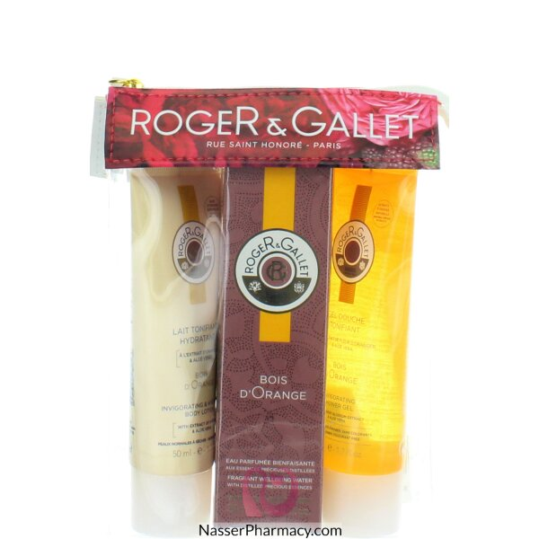 Roger & Gallet  ( R & G )  Bois D`orange Travel Pouch